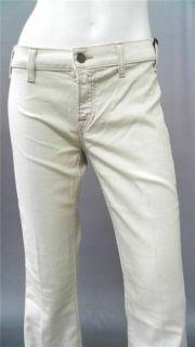 Elizabeth & James JIMI Misses 30 Stretch Color Denim Flare Jeans Tan