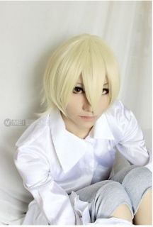 Kuroshitsuji Black Butler Alois Trancy Light Yellow Party Cosplay Wig