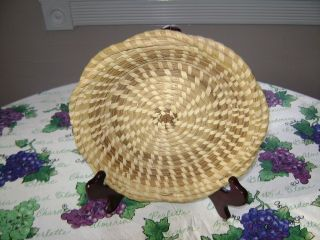 Vintage Charleston South Carolina Gullah Sweetgrass, Pine Needle and