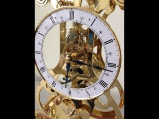 Empire 24K Fusee Skeleton Clock Kit