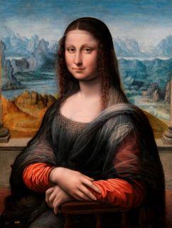 El Prado La Gioconda Renaissance Copy of The Mona Lisa Restored