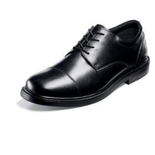 Nunn Bush Elden Mens Black Leather Shoe 84154 001