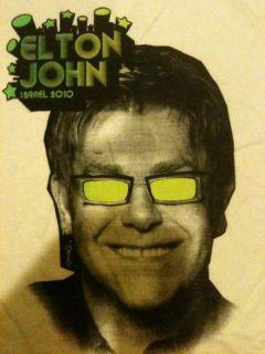 Elton John Live Tel Aviv 2010 Full Show USB Tour Shirt
