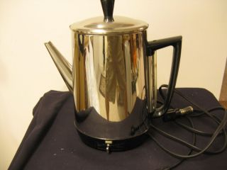 Vintage General Electric Coffee Percolator