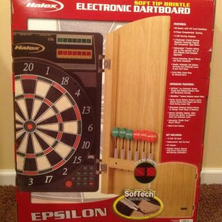 Electronic Dart Board With Cabinet in Dart Boards
