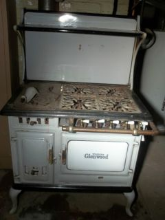 1902 GLENWOOD ANTIQUE GAS STOVES at STOVES BUILT-IN OVENS AND HOBS