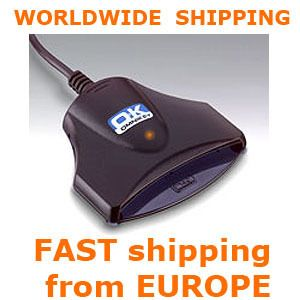 eID Smart Card writer reader National NEW OMNIKEY 1021 USB Bank Tacho