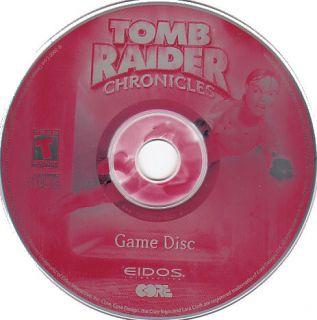 Tomb Raider Chronicles Eidos PC Game New 2X CDROM Set 061887010068