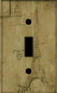 Eiffel Tower ZF Light Switch Plate Cover Switchplate
