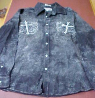 Eighty Eight Mens Size M Button Down Shirt