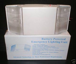 Battery Powered Emergency Lighting Unit
