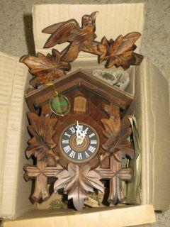 Schwarzwalder German Cuckoo Clock Unused Original Box