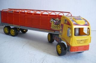 Mexican Truck and Cattle Farms Plastic toy Car Made in Mexico