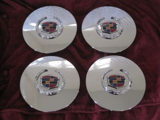 Cadillac DeVille DTS Seville El Dorado Wheel Center Caps Hubcaps
