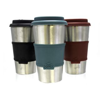 Eco Power Travel Mug BPA Free with Car Travel Charger