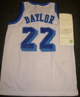 Elgin Baylor Autograph Signed Lakers Jersey White UDA