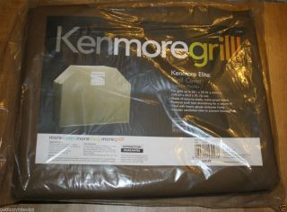 New 56x25x44 Kenmore Elite  Grill BBQ Cover Water Proof Fabric