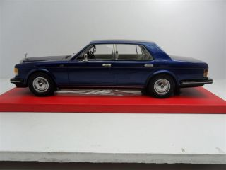 1990 Rolls Royce Silver Spirit Blue Color Lim Ed of 18 Handmade 1 18