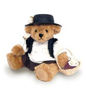 Eliza Doolittle Teddy Bear Audrey Hepburn Mothers Day Gift Present