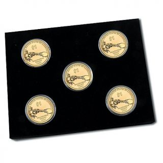 & Native American 2011 P, D and S Native American 5 piece Dollar Set