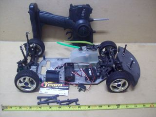 rc car electric w/ team associated tc3 suspension hpi radio HPI for
