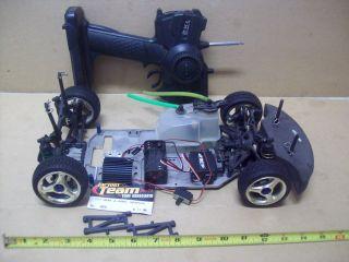 rc car electric w/ team associated tc3 suspension hpi radio HPI for