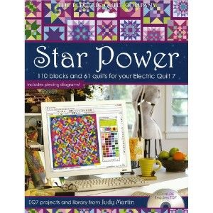 Electric Quilt Star Power Add on Software for EQ7 Judy Martin Projects