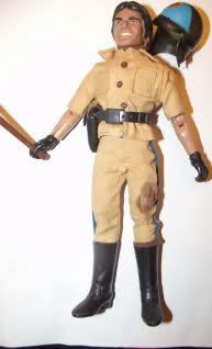 1974 Mego Ponch CHiPS Doll Figure with accessories Erik Estrada