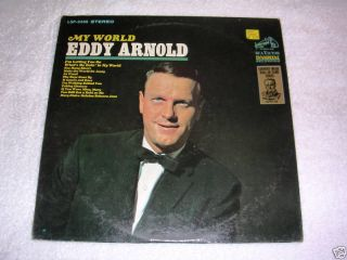 Eddy Arnold My World LP Record 1965 LSP 3466