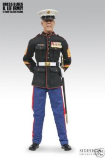 GUNNERY SGT R LEE ERMEY 12 Dress Blues Action Figure Sideshow NEW