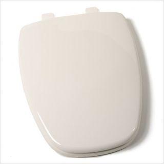 Eljer New Emblem Design Plastic Elongated Toilet Seat Biscuit