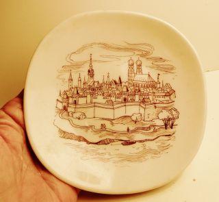 Edelstein Bavaria Handpainted Copenhagen Hanging Plate for Fritz