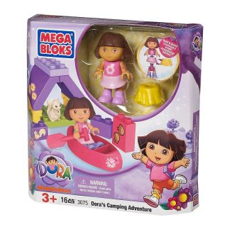 Dora/ Diego Dora Collectible   Camping Adventure   16 Pieces