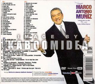 Marco Antonio Muniz Por Siempre Vivo Edicion Especial 2 CD DVD Muñiz