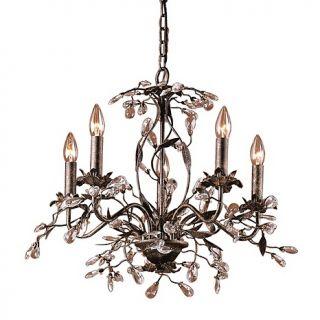 Lighting Hanging & Pendant Lights 17 Circeo Chandelier   Deep Rust
