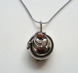 Vintage Silver Vampire Diaries Necklace Elena Vervain Pendant Charms
