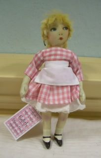 PhotoDoll ™ ~ OOAK miniature HANDMADE art DOLL Edith Lonely Doll