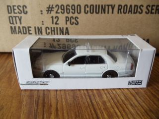 Greenlight Ford Crown Victoria Unmarked Police Cruiser