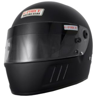 Force 3023LRGMB Pro Elim Full Face Helmet Large Matte Black