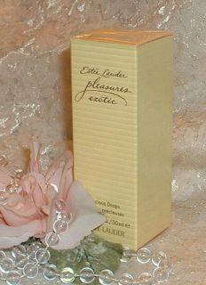 Estee Lauder Pleasures Exotic Perfume Precious Drops