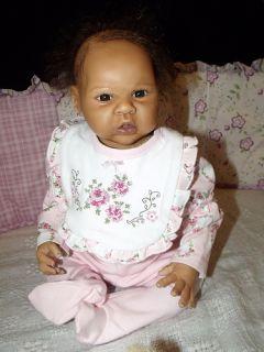 Reborn Baby Elliot Now Elisa Biracial AA Little Sprouts Nursery Baby
