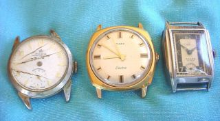 Vintage Mens RODA TIMEX Electric EPPLER Watch WRISTWATCH Estate Swiss