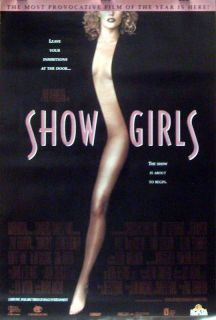 Showgirls Movie Poster Elizabeth Berkley