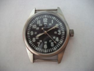 Military Wrist Watch Vietnam Era Hamilton