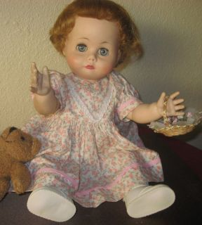 1950 60s Vintage Madame Alexander Kathy Tears Doll