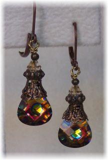 Crystal Dangle Jewelry Earrings   HisJewelsCreations Design