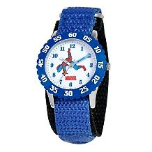 29 90 marvel kid spiderman time teacher watch wrotating bezel $ 31 90