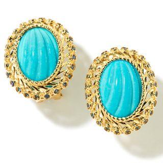 Jewelry Earrings Stud Heritage Gems .43ct Sleeping Beauty