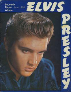 Elvis Presley 1956 Tour Concert Program Programme Book