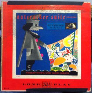 Eugene Ormandy Tchaikovsky Nutcracker Suite 10 VG LM 8 Vinyl 1949